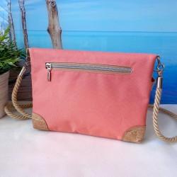 Bügel Portemonnaie -Papierboot Gold/Nachtblau/Cognac-